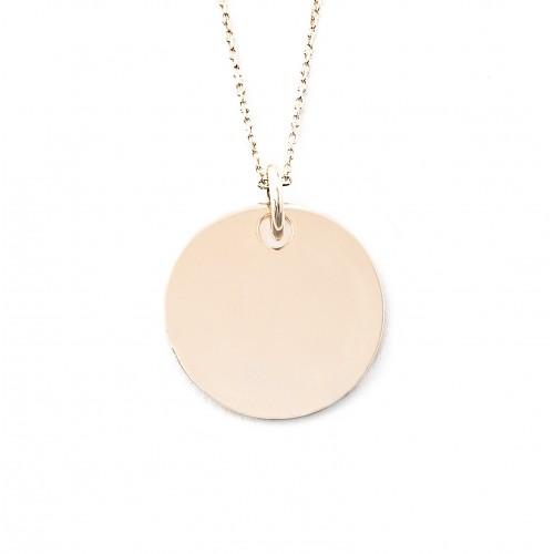 Médaille Jeanne 19 mm non gravée