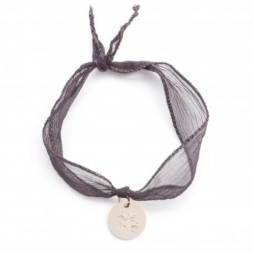 Bracelet Ruban et Médaille La Voix De L'Enfant