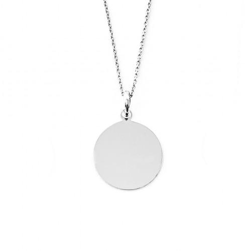 Médaille Flore 17 mm non gravée