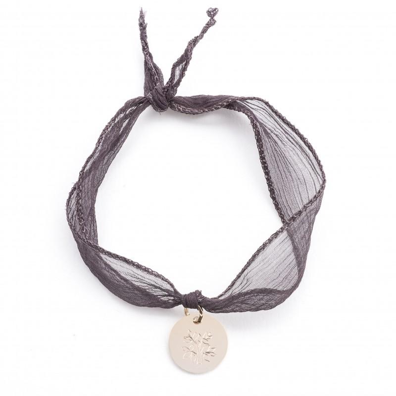 Ruban et Médaille La Voix De L'Enfant Taupe foncé Recto