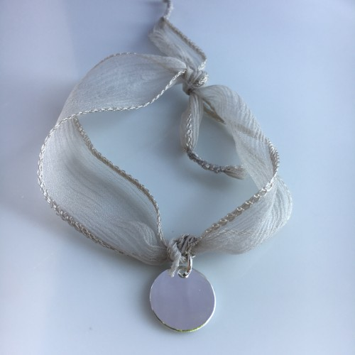 Bracelet Médaille Argent