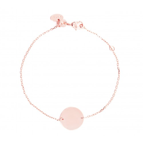 Bracelet Anna Plaqué Or Rose